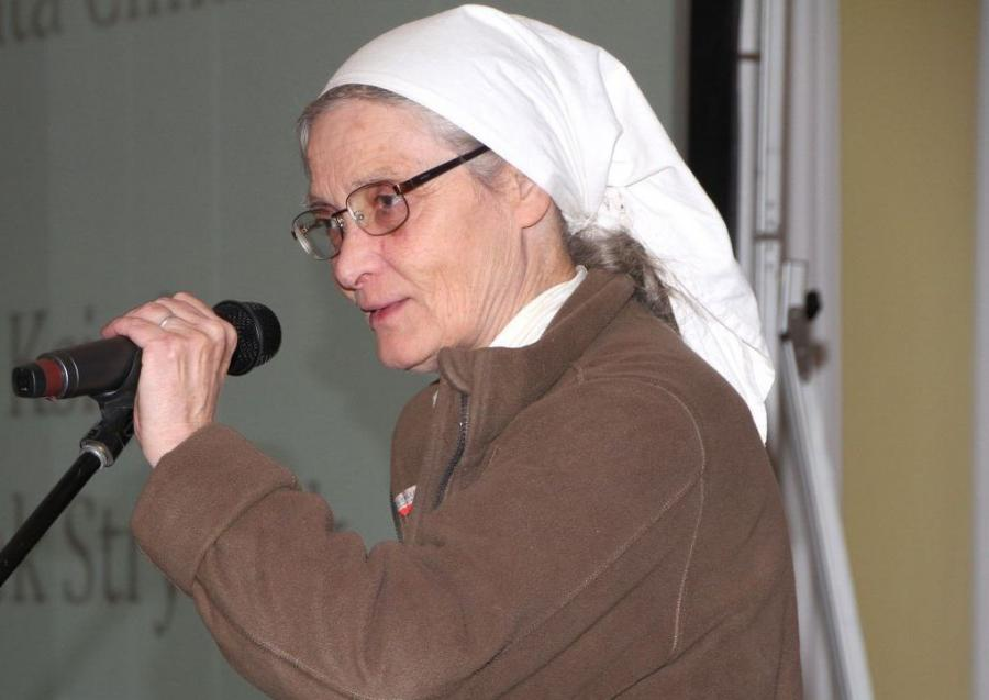 Siostra Małgorzata Chmielewska - IV edycja Konkursu Grantowego Funduszu Społecznego Notariatu