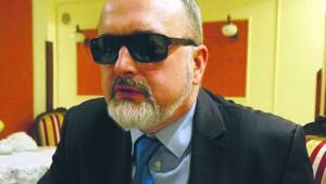 Andrzej Góźdź adwokat, jest niewidomy