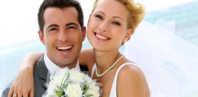 małżonkowie, młoda para