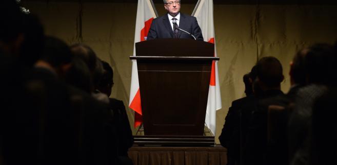 Bronisław Komorowski w Japonii