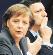 """Merkel chce zmian w traktacie lizbońskim, Barroso mówi """"nie"""""""