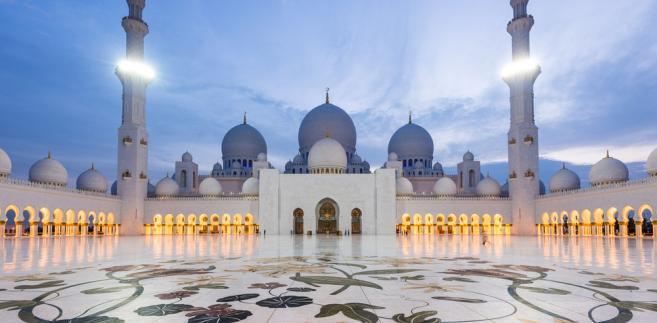 Wielki Meczet Sheikh Zayed, Abu Dhabi, ZEA