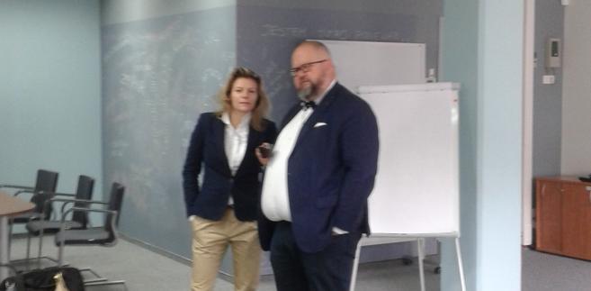 Krzysztof Wąsowski oraz Katarzyna Przyłuska- Ciszewska