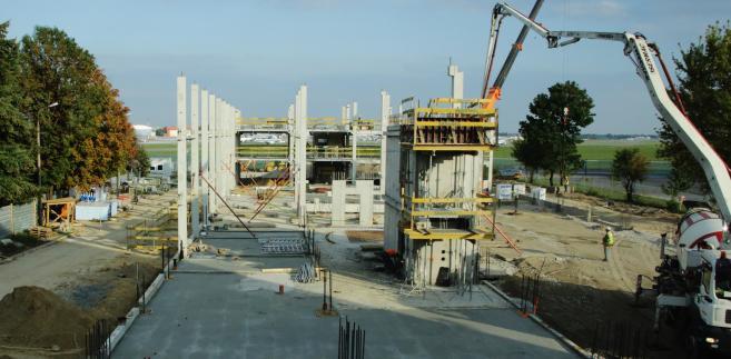Centrum Turbin Gazowych - budowa