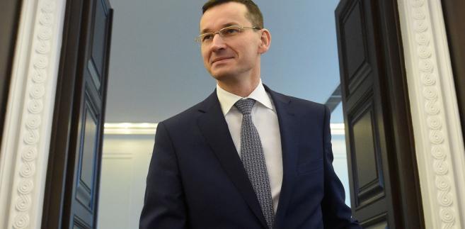 Morawiecki, minister finansów