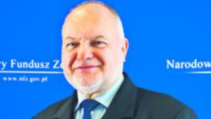 Andrzej Jacyna, p.o. prezes Narodowego Funduszu Zdrowia