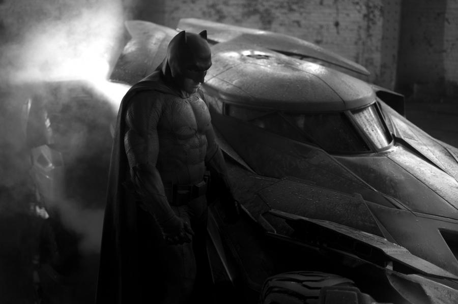 Ben Affleck jako Batman (2016)