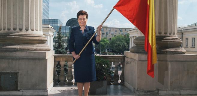 Hanna Gronkiewicz-Waltz, fot. Maksymilian Rigamonti