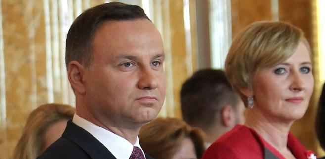 Prezydent Andrzej Duda i Pierwsza Dama Agata Kornhauser-Duda