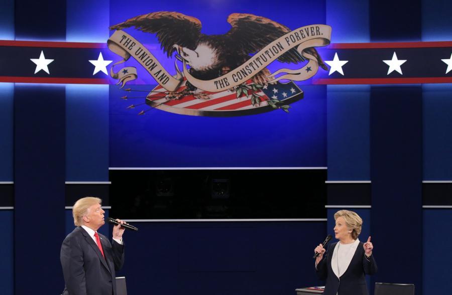 Druga debata Clinton-Trump
