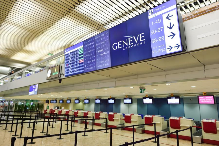 Szwajcaria: Lotnisko w Genewie