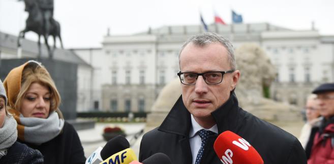 Dyrektor biura prasowego prezydenta Marek Magierowski