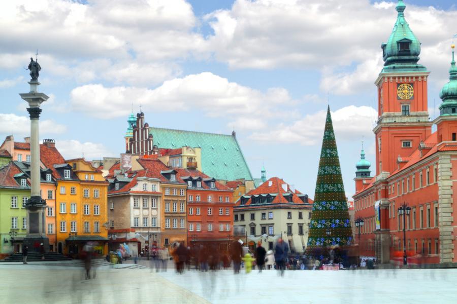 Warszawa, miasto (fot. shutterstock)