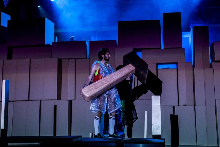"""""""Wyzwolenie"""" w Teatrze Studio, fot. Aleksandra Skowron"""