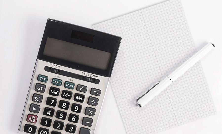 kalkulator i notes