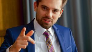 dr Maciej Kawecki doradca minister cyfryzacji, który zajmuje się dostosowaniem aktów prawnych do RODO