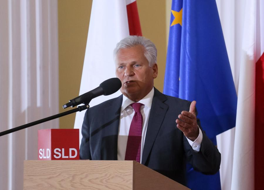 Były prezydent Aleksander Kwaśniewski,  PAP/Paweł Supernak