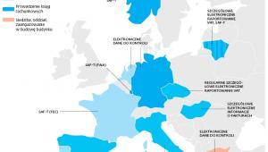 PRZYKŁADY: Gdzie obowiązki elektronicznego raportowania podatków mogą dotyczyć polskich firm prowadzących tam biznes