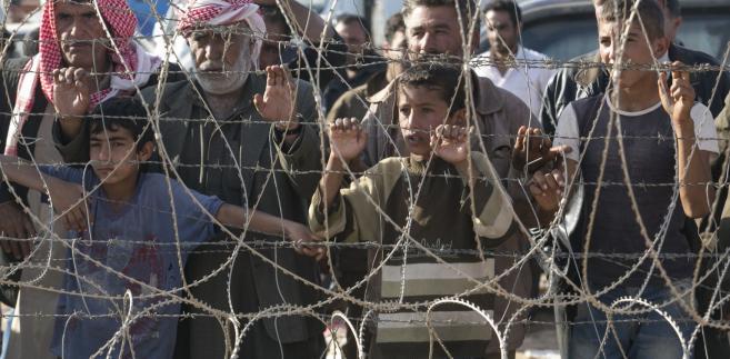 Uchodźcy z Kobane