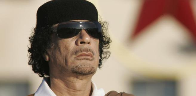 Muammar Kaddafi. Fot. AP