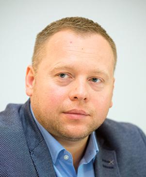 Patryk Sucharda kierownik ds. relacji zewnętrznych firmy SCA Hygiene