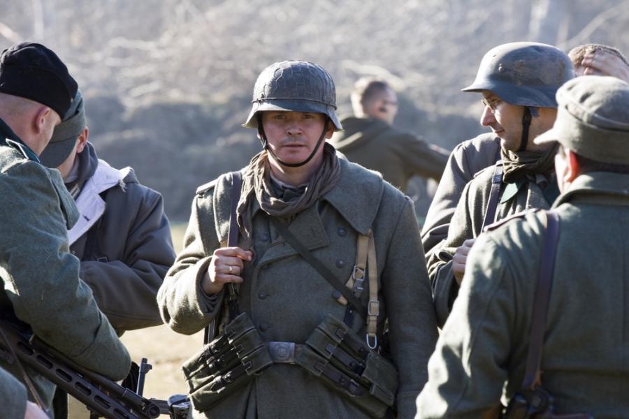 rekonstrukcja II wojny światowej