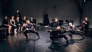 Hamlet-komentarz, Teatr Pieśń Kozła Fot. Mateusz Bral