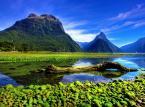 <strong>5. Nowa Zelandia</strong> <br><br> Wystarczającą reklamą Nowej Zelandii jest zdjęcie, które widzicie powyżej. Miłośnicy natury trafią do raju na ziemi. <br><br> Na zdjęciu Mirror Lakes.