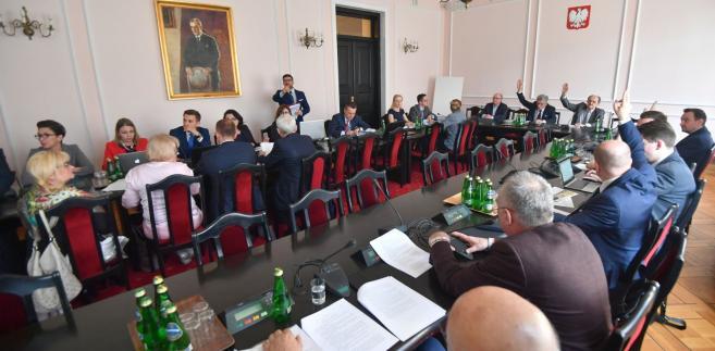 Sejm Komisja Sprawiedliwości i Praw Człowieka