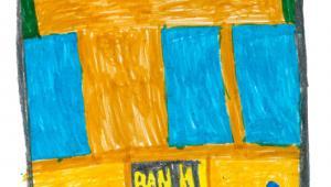 Rysunek Sebastiana, lat 6