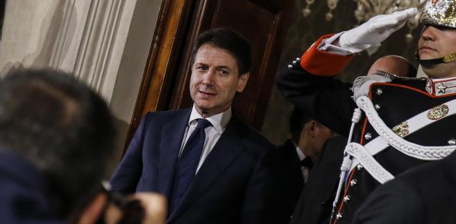 Giuseppe Conte, nowy szef włoskiego rządu