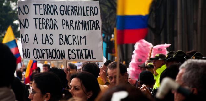 Kolumbia, FARC, terror