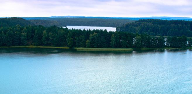 Kaszuby, jezioro Wdzydze