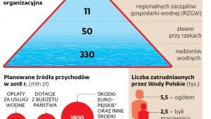 Wody Polskie. Struktura organizacyjna