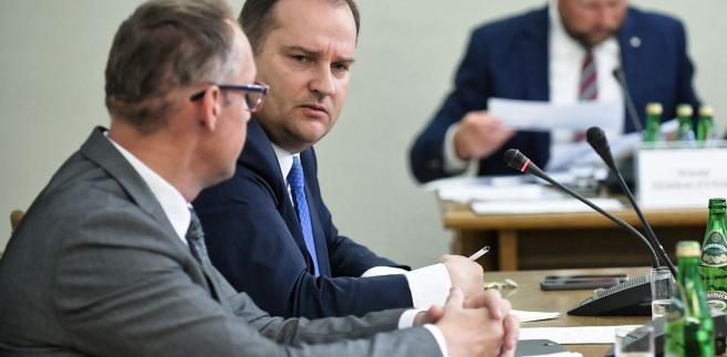 Tomasz Arabski przed komisją ds. Amber Gold