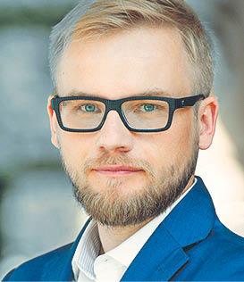 Marcin Bącal, radca prawny, wspólnik w Chajec, , Don-Siemion i Żyto, 27. miejsce w 2015 r