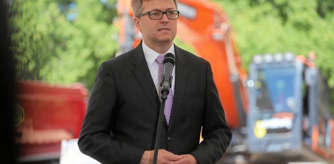 Dyrektor Muzeum Historii Polski Robert Kostro