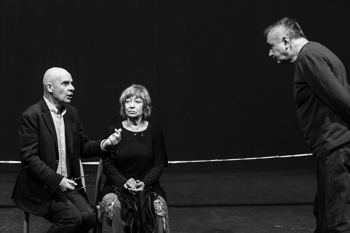"""""""Krzesła"""" Ionesco w Teatrze Polonia, fot. Katarzyna Kural-Sadowska"""