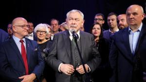 Prezydent Krakowa, kandydat komitetu Koalicja Obywatelska Jacek Majchrowski
