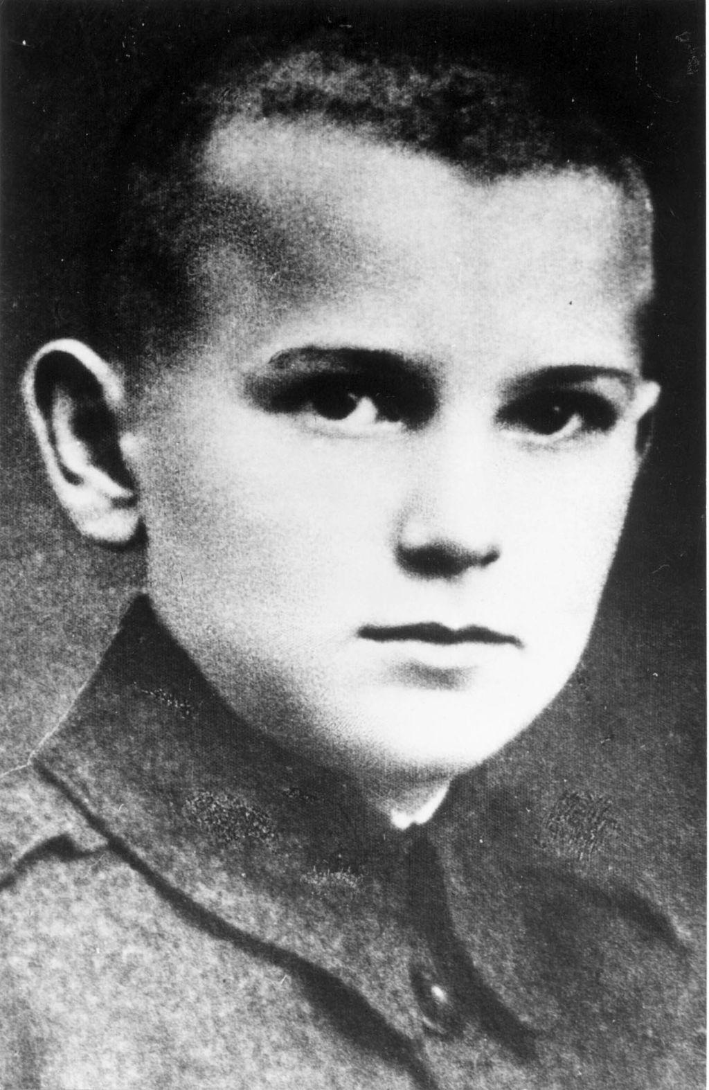 Karol Wojtyła, Wadowice 25 lipca 1930. fot. zuma/newspix.pl