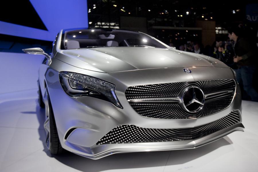 Mercedes-Benz klasy A, pojazd koncepcyjny prezentowany na wystawie New York International Auto Show (NYIAS) w Nowym Jorku, USA