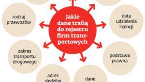 W Polsce 29630 firm ma licencję na międzynarodowy transport