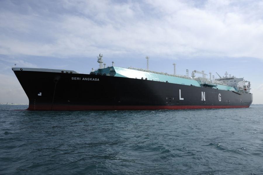 Statek przewożący gaz LNG
