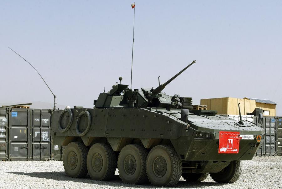 Polski transporter opancerzony Rosomak