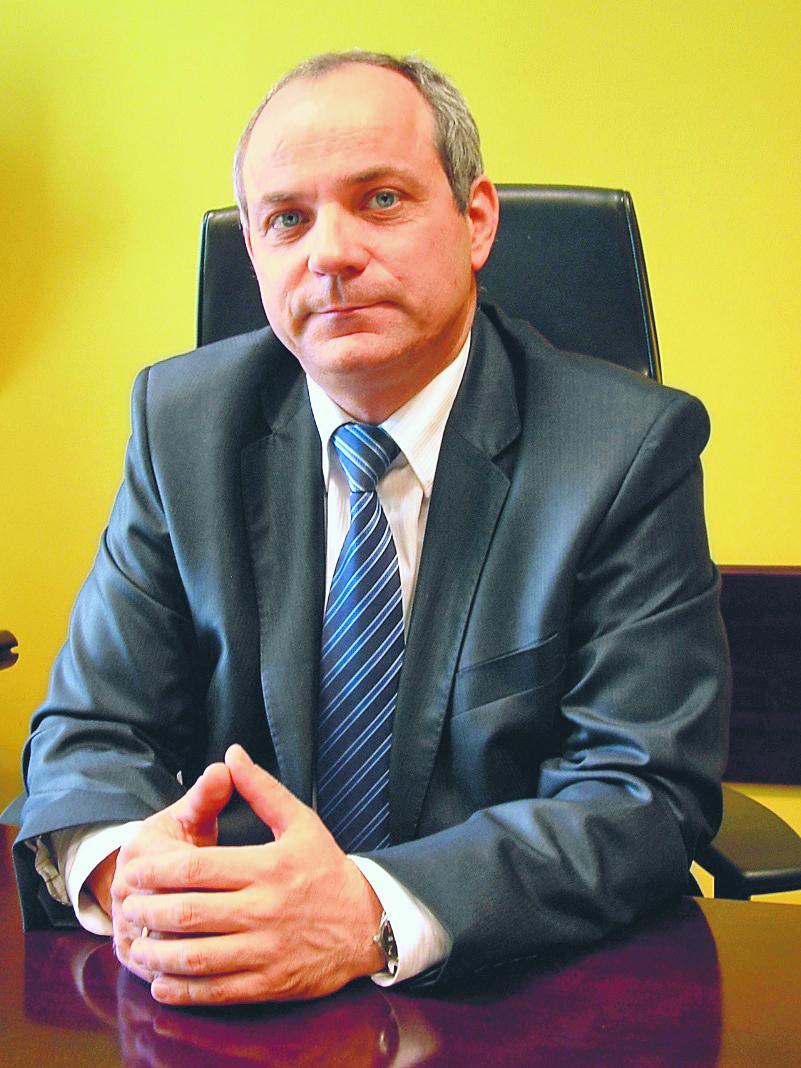 dr Alfred Staszak, prokurator okręgowy z Prokuratury Okręgowej w Zielonej Górze