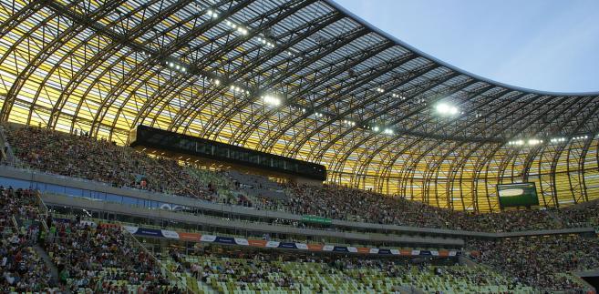 PGE Arena, stadion w Gdańsku.