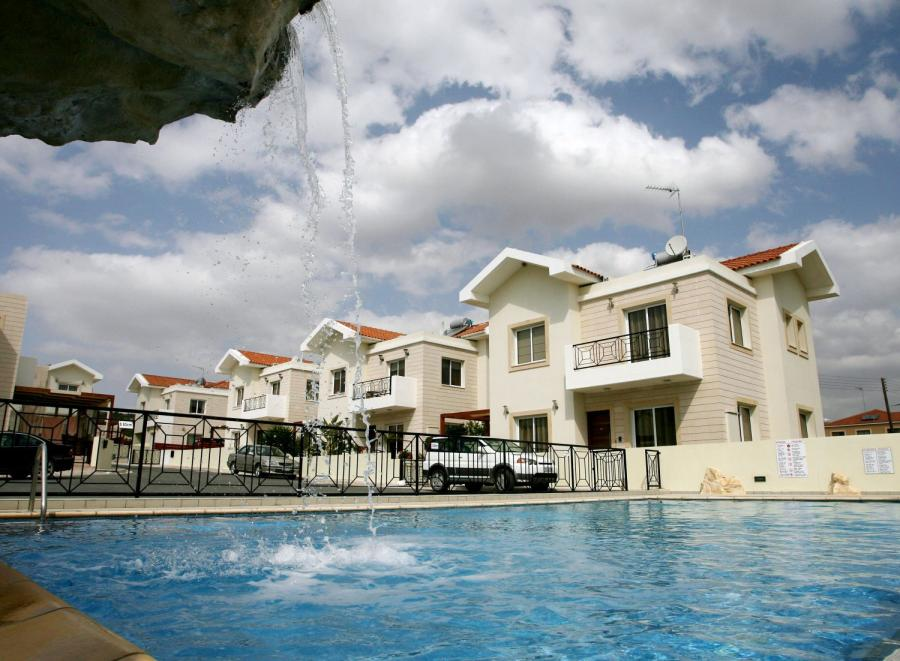 Miasteczko Pyla, niedaleko larnaki na Cyprze.