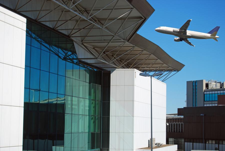 Terminal lotniska Fiumicino w Rzymie